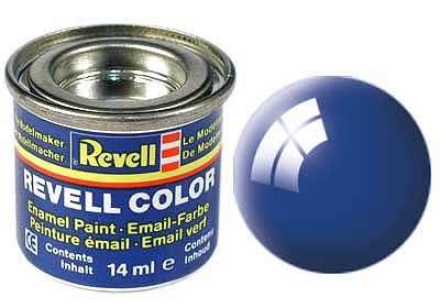 Revell barva 52 Blue lesklá modrá