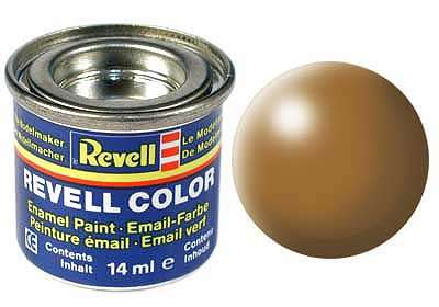 Revell barva 382 Ochre Brown - lesní hnědá polomatná