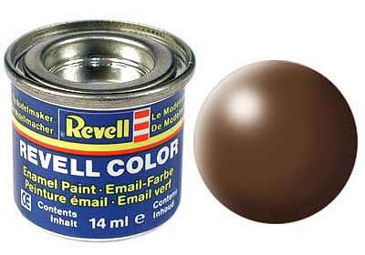 Revell barva 381 Brown -  hnědá polomatná