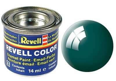 Revell barva 62 Mossy Green - mechově zelená lesklá