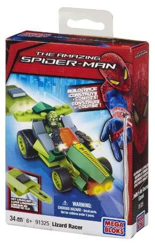 Image of MEGABLOKS Spiderman závodní auta Lizard Racer 91325