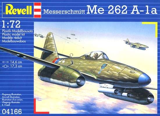 Revell model - messerschmitt Me 262 A-la