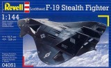 Revell model F-19 Stealth Fighter