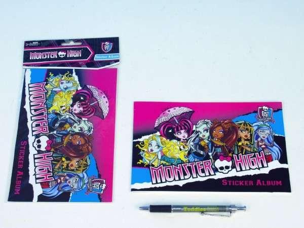 Album na samolepky Monster High