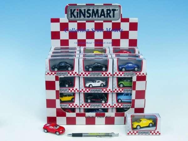 Auto Kinsmart mini kov 6cm - různé druhy
