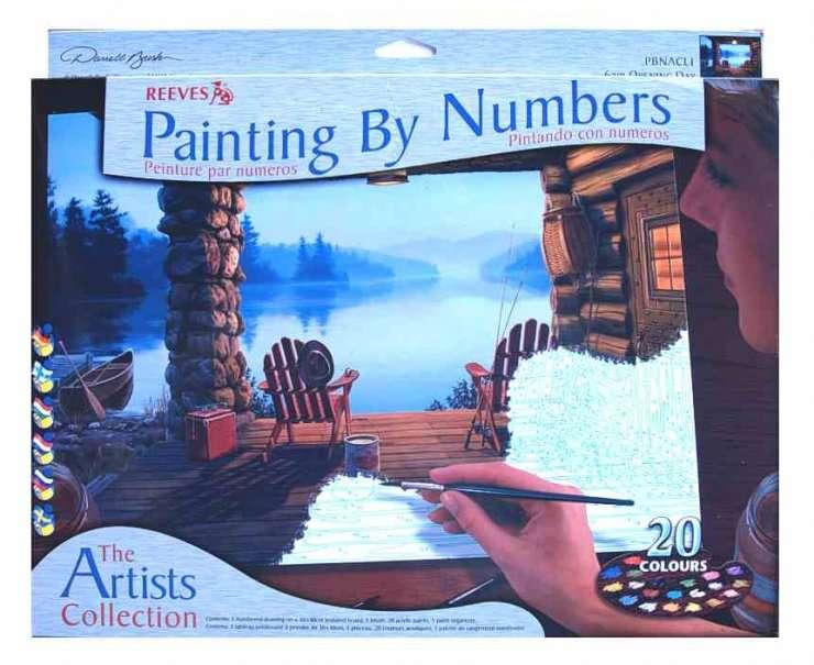 Malování podle čísel 30x40cm