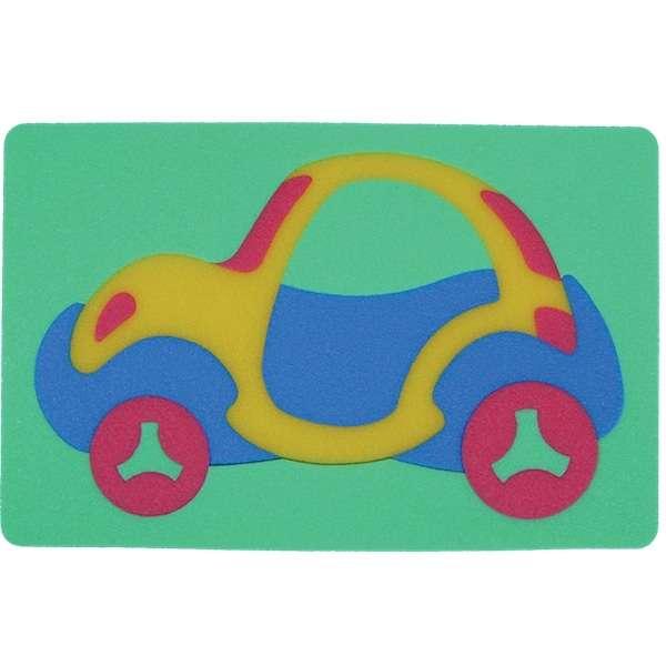 Pěnové puzzle - Automobil Brouk