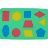 Pěnové puzzle - Geometrické obrazce