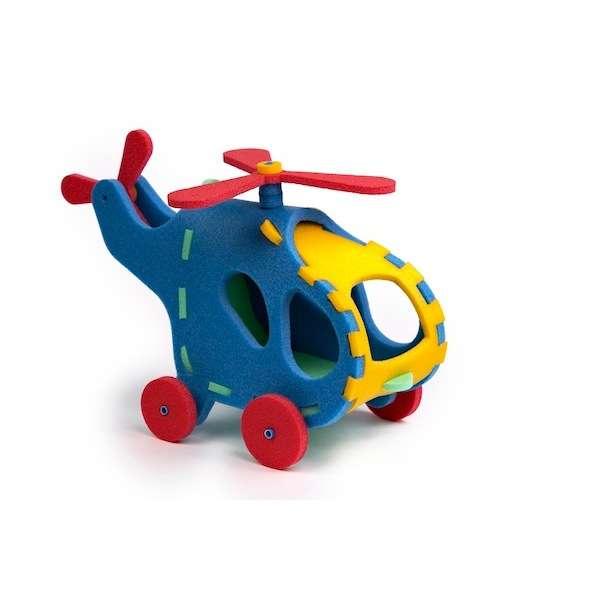 Pěnové puzzle - Vrtulník 3D