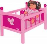 Zvětšit fotografii - Postýlka pro panenku s peřinkami
