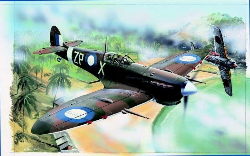 Modely Směr - Supermarine Spitfire MK.Vc