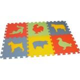 Pěnové puzzle - koberec MAXI 6 Domácí zvířata-silný