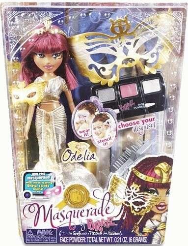 Bratz - Maškarní panenka ODELIA