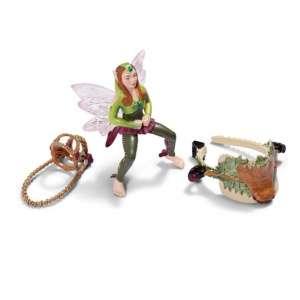 Postroj na koně lesní Elf- sběratelská figurka