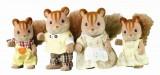 Sylvanian Families - Rodina - Oříškové veverky