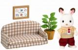Sylvanian Families - Taťka králíček na pohovce