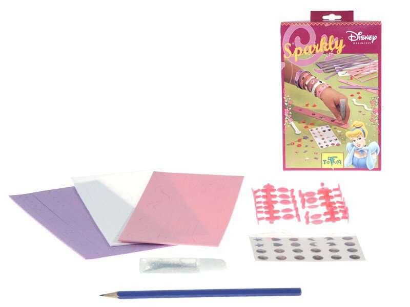 Sparkly Princess - kreativní sady Totum