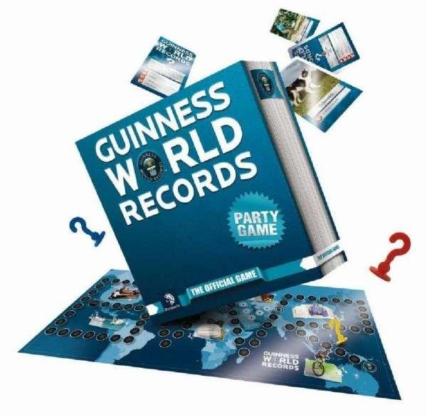 Guiness World Record - společenská hra BONAPARTE