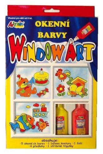 Window - Barvy na okna 5x20ml+předlohy OSTATNÍ