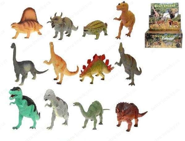 Dinosaurus 33-41cm 12druhů