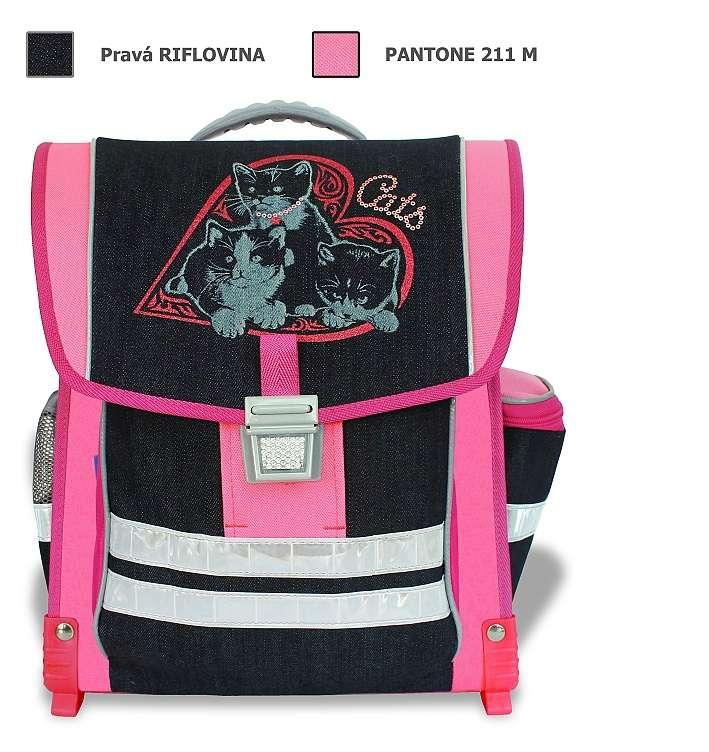 Emipo Školní aktovka Cats T-7705-6.084
