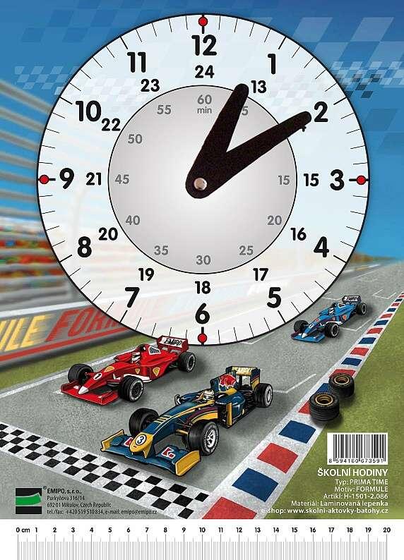 Školní hodiny Formule H-1501-2.086 EMIPO