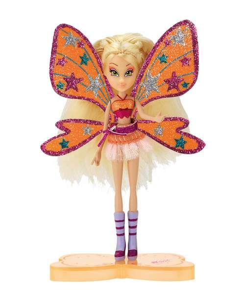 WINX - STELLA New Mini Magic 12cm Believix Fairy RAINBOW